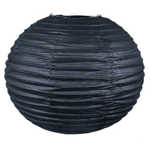 Подвесной фонарик 30 см Стандарт Черный