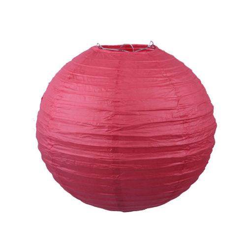 Подвесной фонарик 30 см Стандарт красный