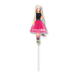 Шар 35 см Мини-фигура Барби