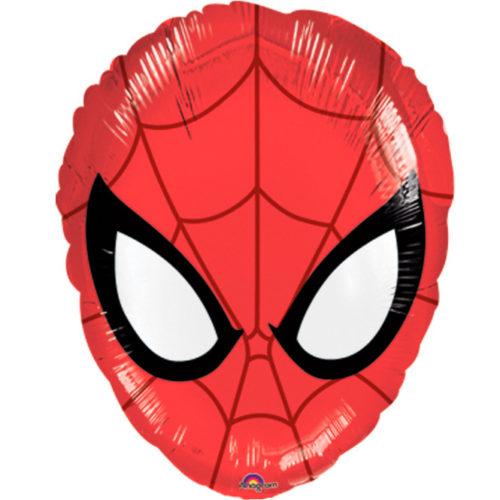 Шар 43 см Фигура Человек Паук Голова