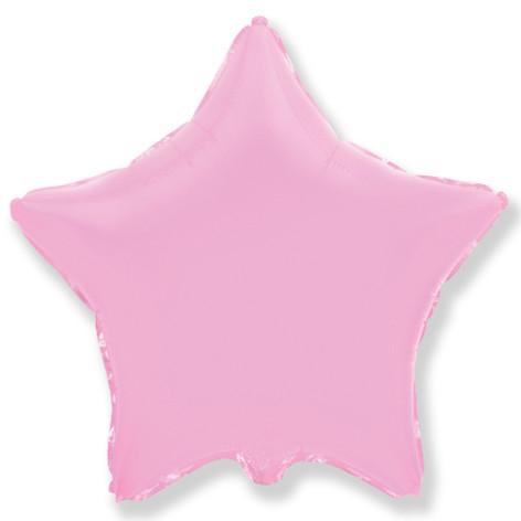 Шар 46 см Звезда Розовый