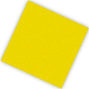 Салфетки 25 х 25 см Делюкс Желтые 20 штук