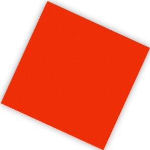 Салфетки 25 х 25 см Делюкс Красные 20 штук