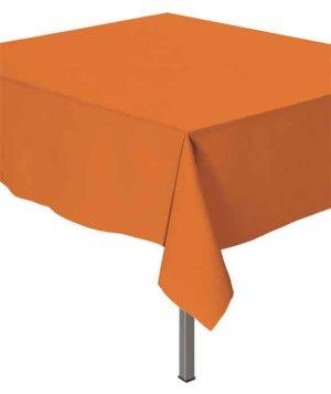 Скатерть п-э 137 х 270 см Делюкс Оранжевая