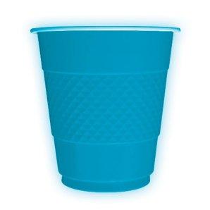 Стаканы пластиковые 210 мл Делюкс Карибы 10 штук