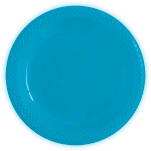 Тарелки пластиковые 15 см Делюкс Карибы 10 штук