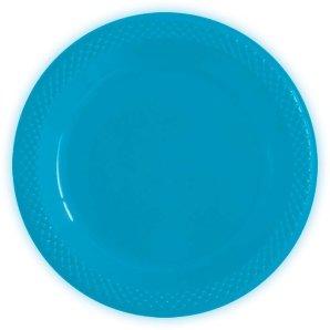 Тарелки пластиковые 23 см Делюкс Карибы 10 штук