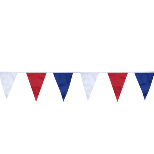 Праздничная гирлянда Флажковая лента Триколор 5м