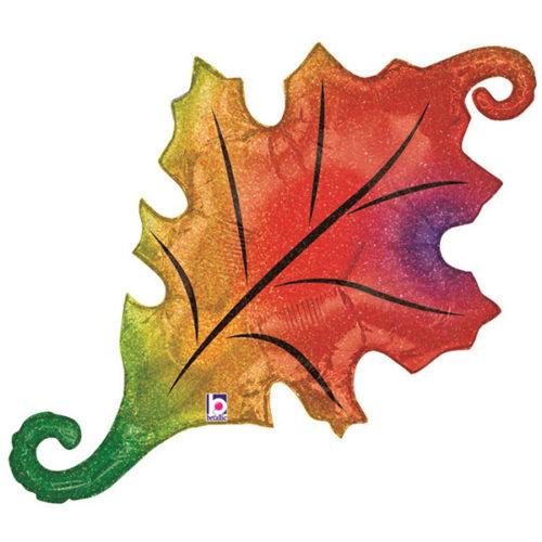 Шар 102 см Фигура Осенний лист