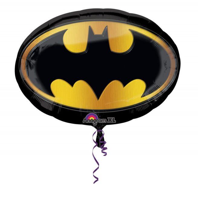 Шар 89 см Фигура Бэтмен эмблема