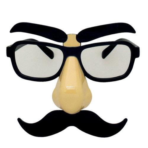 Прикольные очки Нос с усами