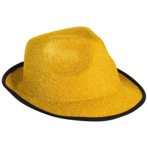 Шляпа Стильная золото