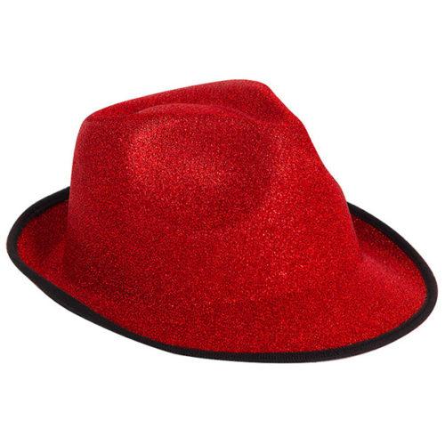 Шляпа Стильная красная