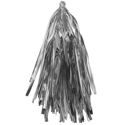Гирлянда Тассел Серебро фольга 12 листов