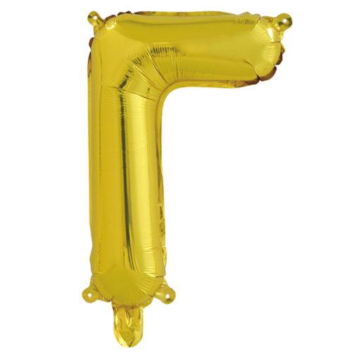 Шар 41 см Буква Г Золото