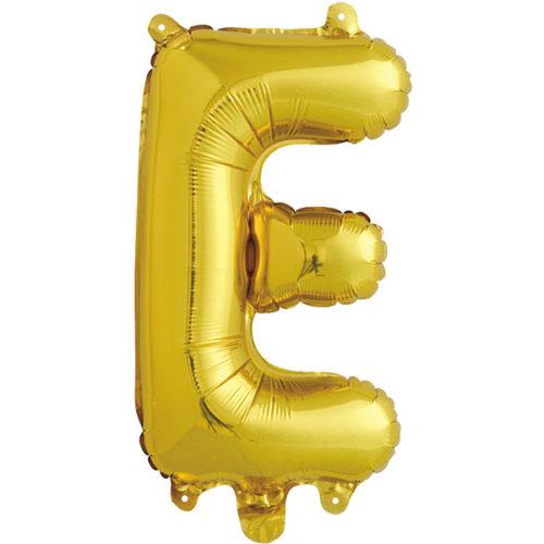 Шар 41 см Буква Е Золото