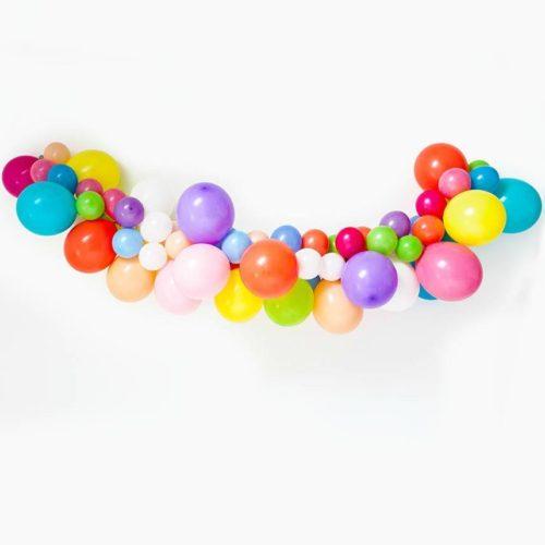 Гирлянда из разных шариков цвет Ассорти 2 метра