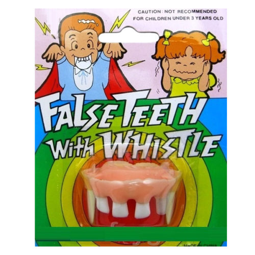 Зубы со свистком