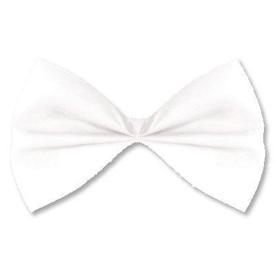 Галстук-бабочка белый