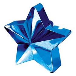 Грузик для шара Звезда голубая 170 гр