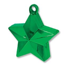 Грузик для шара Звезда зеленая 170 гр