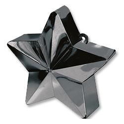 Грузик для шара Звезда черная 170 гр