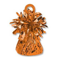 Грузик для шара Конус светло-оранжевый 170 гр