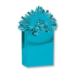 Грузик для шара Сумочка голубой 160 гр