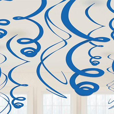 Спираль 46 - 60 Синие Blue 12 штук