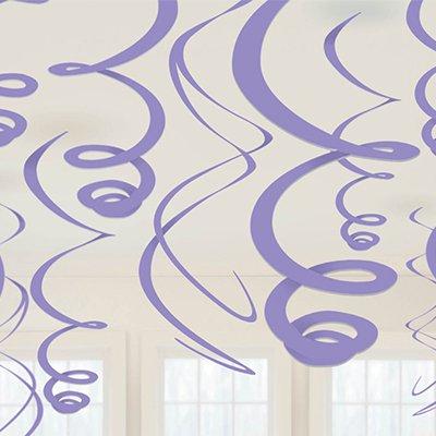 Спираль 46 - 60 Сиреневые 12 штук