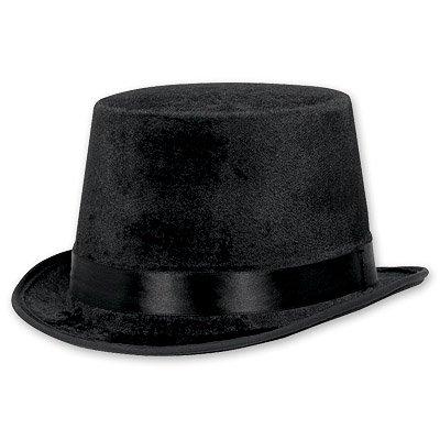 Шляпа велюр Классика Чёрная
