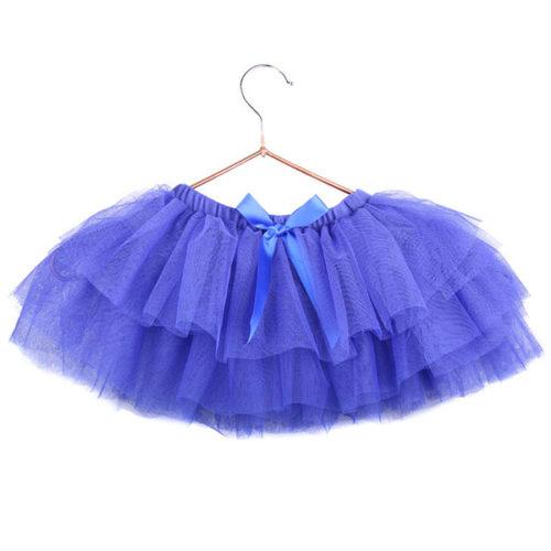 Юбка-пачка для малышей 25 см синяя