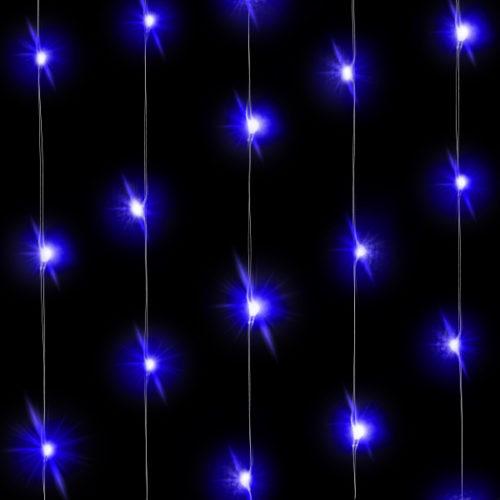 Светодиодная нить Голубого свечения 3 м 30 Led