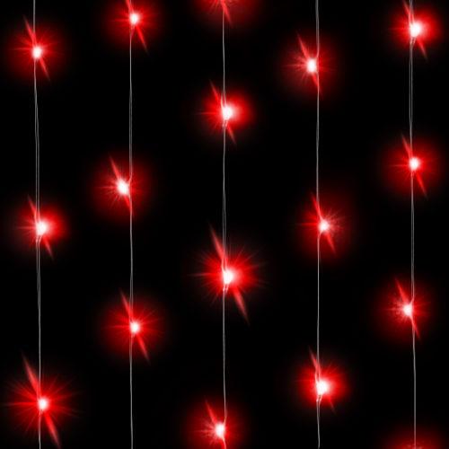 Светодиодная нить Красного свечения 3 м 30 Led