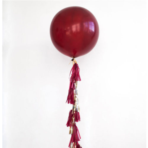 Большой шар с Гирляндой Тасел Боррдо
