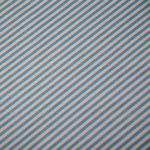 Упаковочная бумага Крафт 40гр 0,72 х 10 м Диагональ голубая