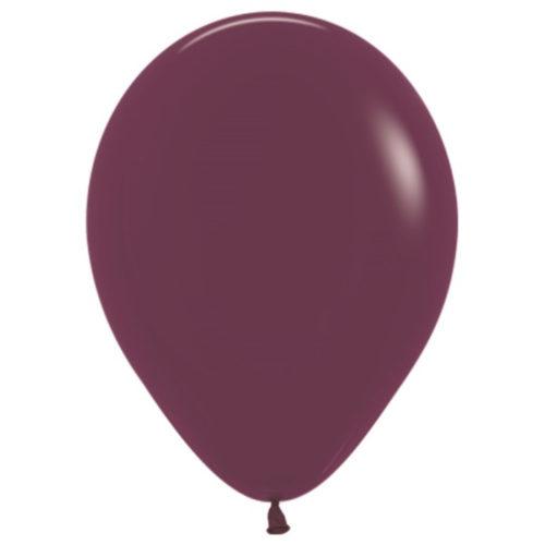 Шар 30 см пастель Бургундия 018
