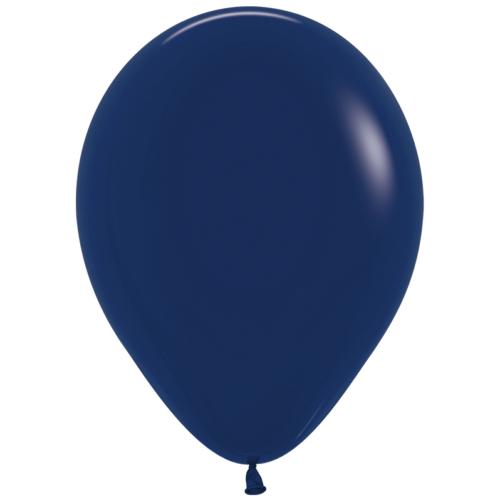 Шар 30 см пастель Темно-синий 044