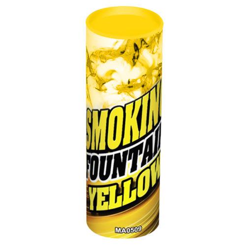 Дым желтый 30 секунд Высота 115 мм 1 штука