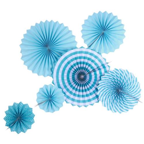 Набор дисков Голубой микс 6 шт