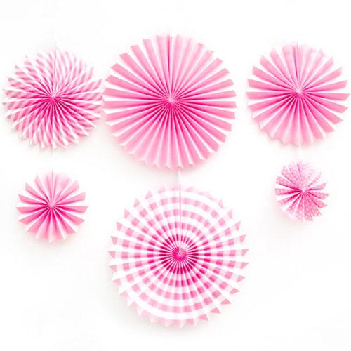Набор дисков Розовый микс 6 шт