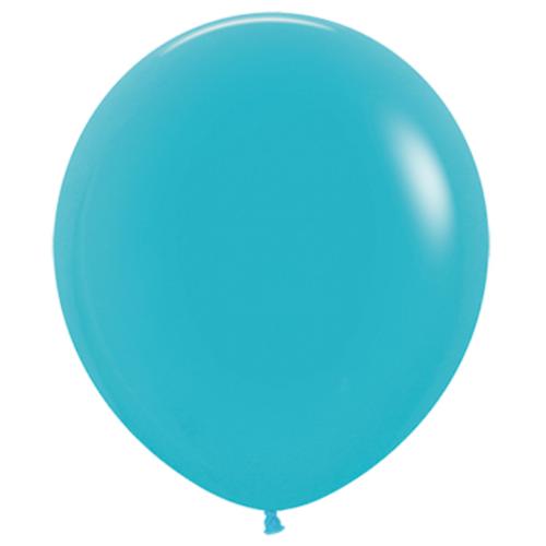 Шар 70 см Синяя бирюза 038 пастель
