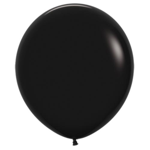 Шар 70 см Черный пастель