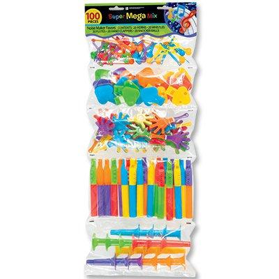 Игрушки для пиньяты Дуделки - Шумелки 100 штук