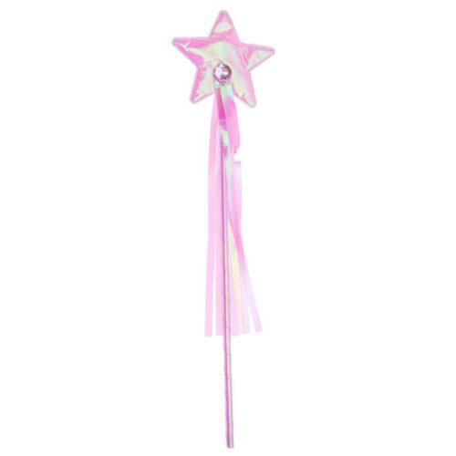 Палочка Звезда розовая 39 см