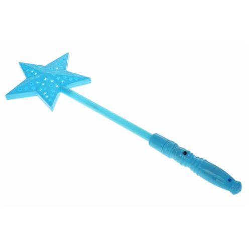 Палочка световая Звездочка голубая 33 см