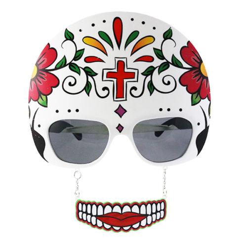 Прикольные очки Мексиканский Череп