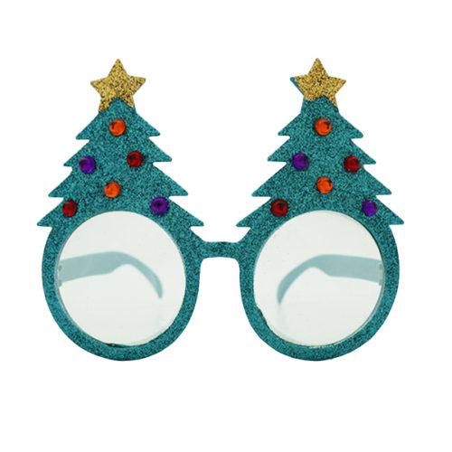 Прикольные очки Новогодняя елка