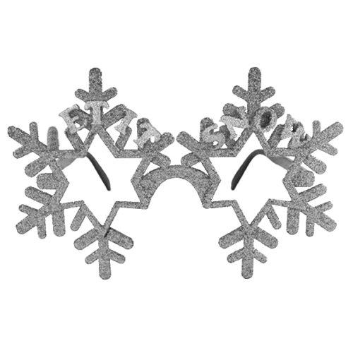 Прикольные очки Снежинки