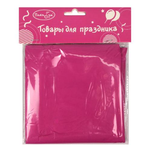 Скатерть полиэтиленовая Hot Pink Фуксия 121 см X 183 см